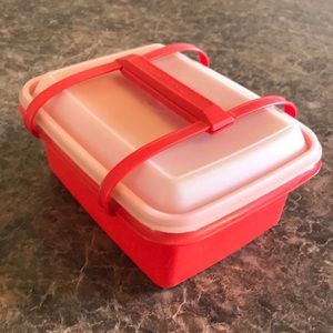Vintage Tupperware lunch container